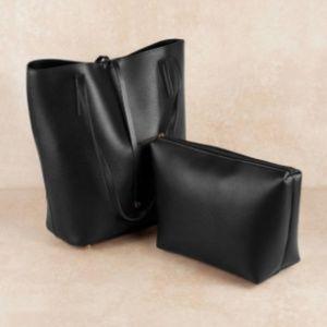 NWOT Tracey Black Tote Bag